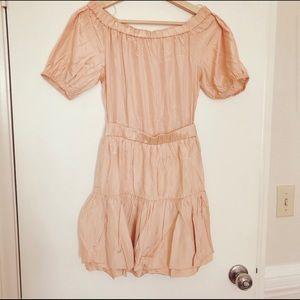 Maje Elasticated Taffeta Dress Size 1